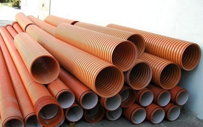 пластиковые трубы для монтажа под землей