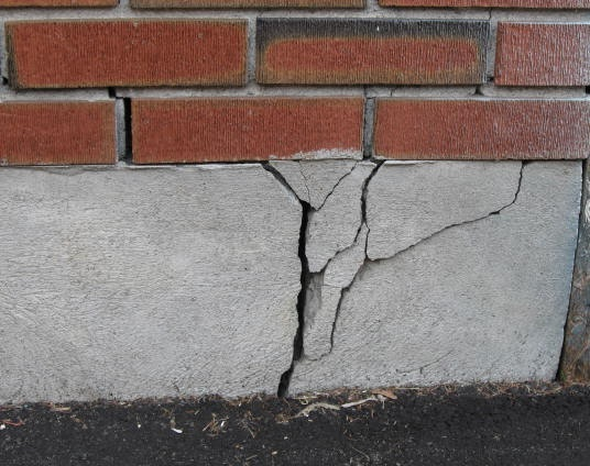 Трещина в фундаменте