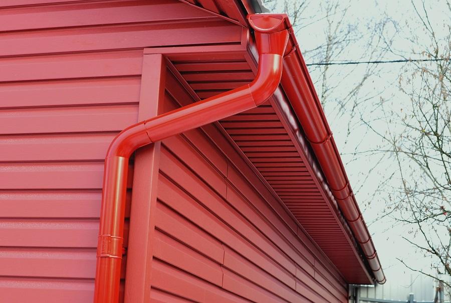 Rain Gutter Downspout Noise Guards